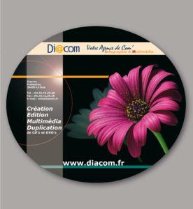 <strong>Diacom : </strong> Concept visuel de l'agence en 2006.
