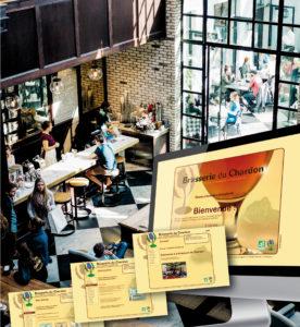 <strong>Brasserie du Chardon :</strong> Site Web CMS - Joomla.