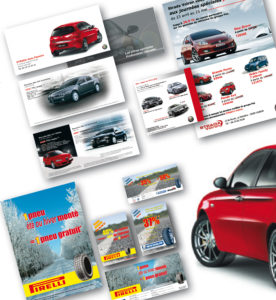 <strong>Fiat Strada Grenoble - LV Media : </strong> Affiches, panneaux grands formats, bâches, mailings, dépliants...