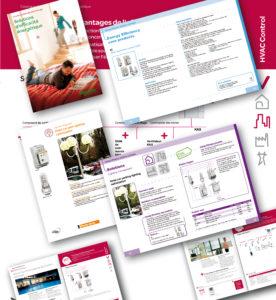 <strong>Schneider Electric - Communication :</strong> Catalogue Energy Efficiency Solutions. Maquette réalisée pour montrer l'esprit souhaité à l'agence qui l'a réalisé ensuite.